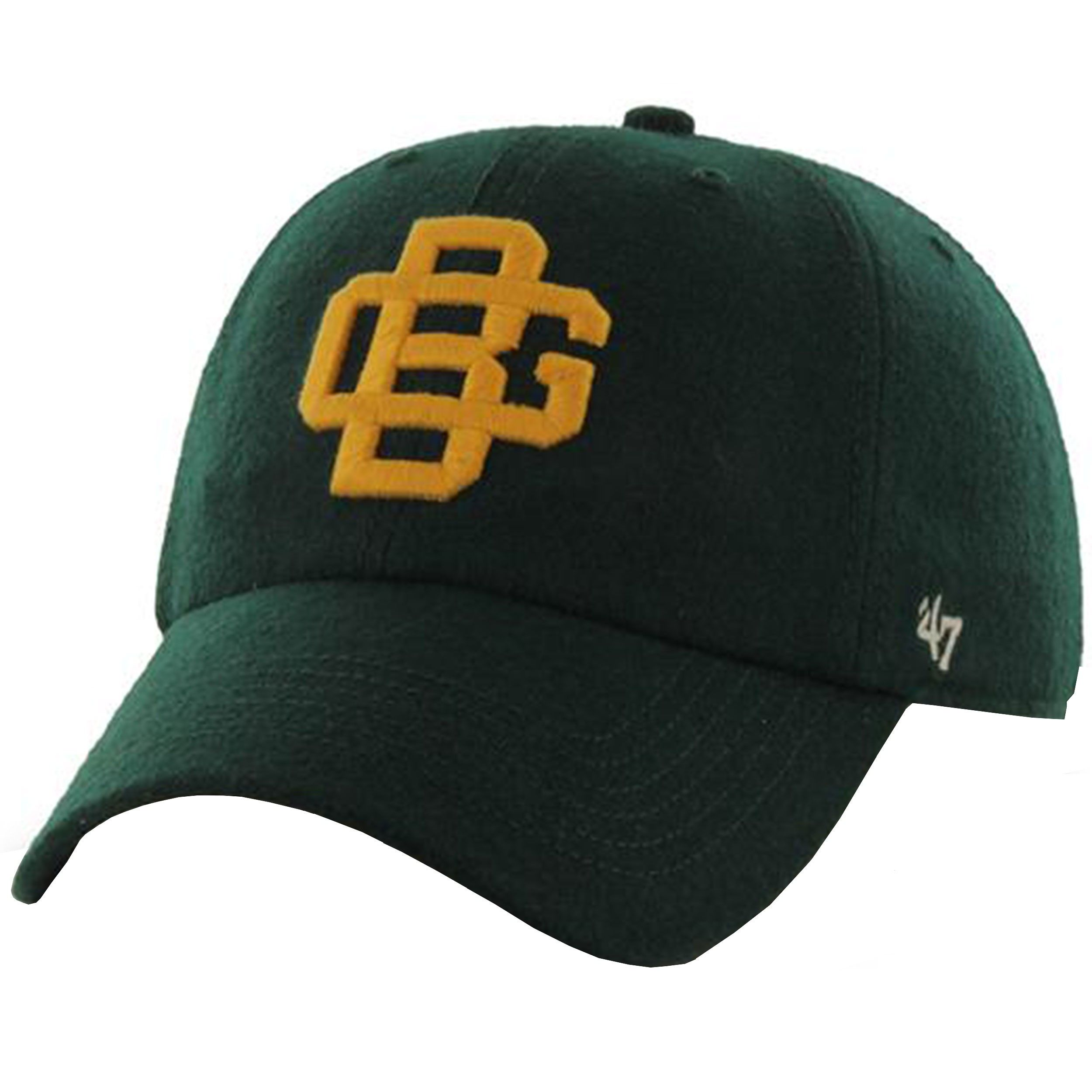 90abd4ff5570 Green Bay Packers Brooksby Wool GB Logo Cap