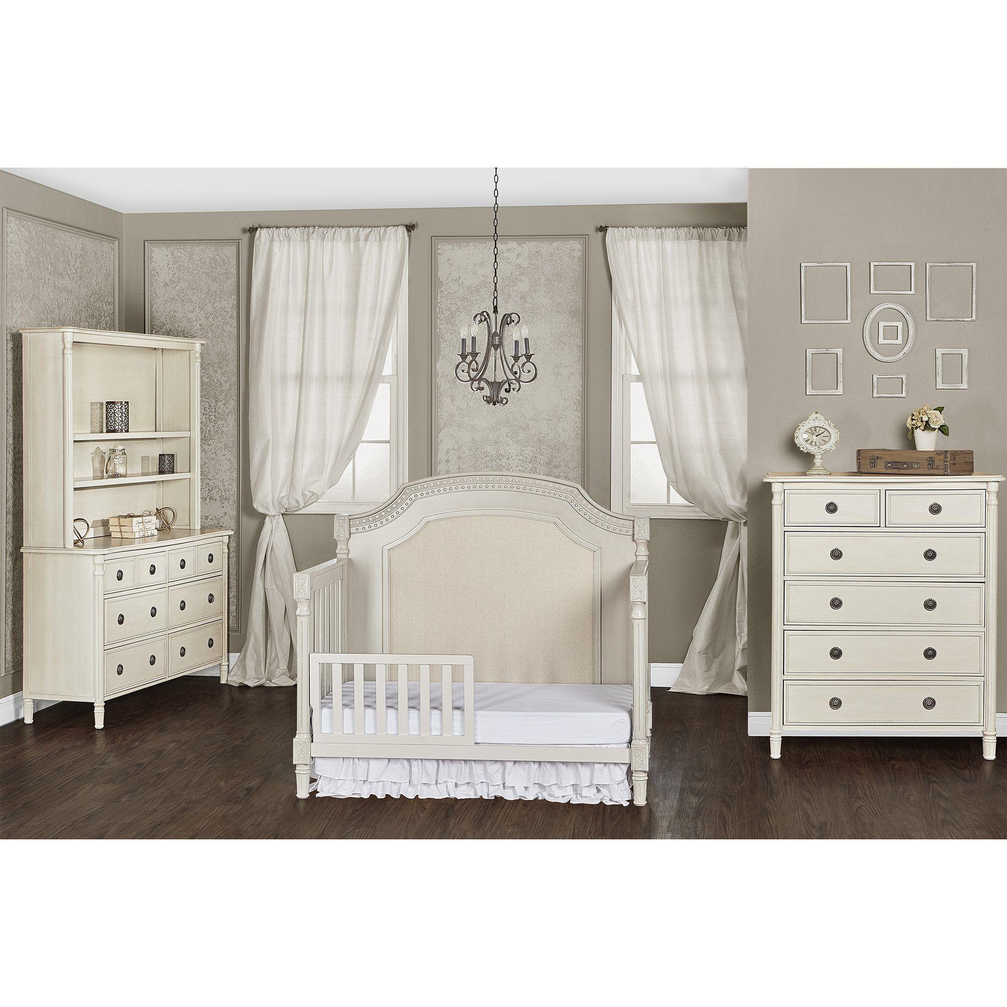 Evolur Julienne Matching Toddler Rail Cribs, Convertible