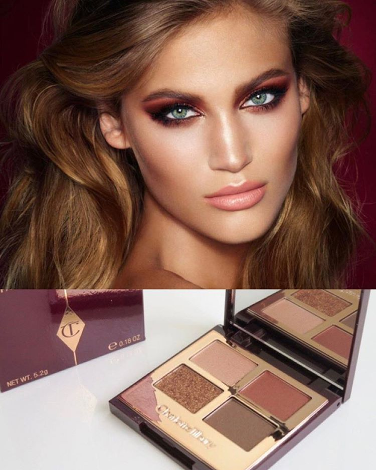 """28 Likes, 3 Comments - Yvonne Howie MUA (@yvonnehowiemua) on Instagram: """"After my Charlotte Tilbury master class I had to get the dolce vita eye shadow palette, such…"""""""