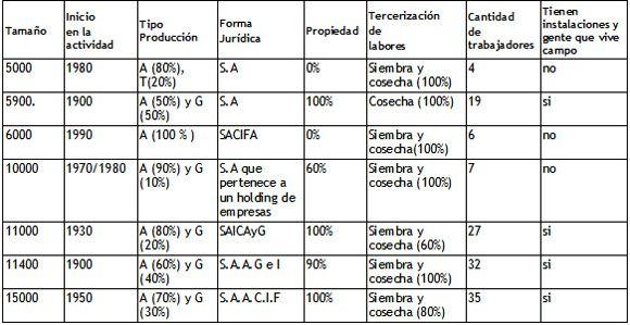 Las formas de organización y gestión en empresas agropecuarias pampeanas: estudio de caso de grandes unidades en el noroeste de la provincia de Buenos Aires