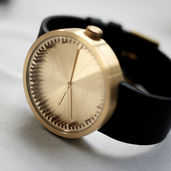Buy your Leff Tube D42 Brass/Black® Watch from an authorised retailer with free worldwide delivery. October 2016 collection and 5% off your first order