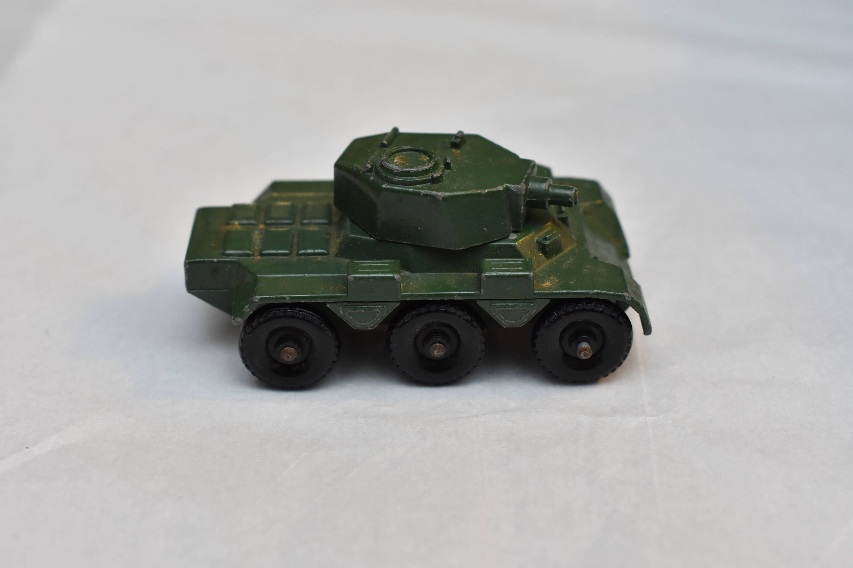 Matchbox Lesney No 67 Saladin Armoured Car Tsnk 1960's, made