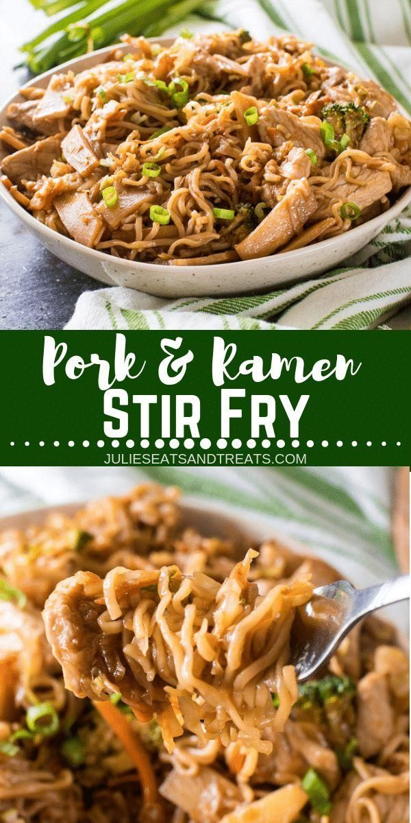 This quick and easy dinner recipe features your favorite Ramen Noodles! A fun an...  - Foooooood! -