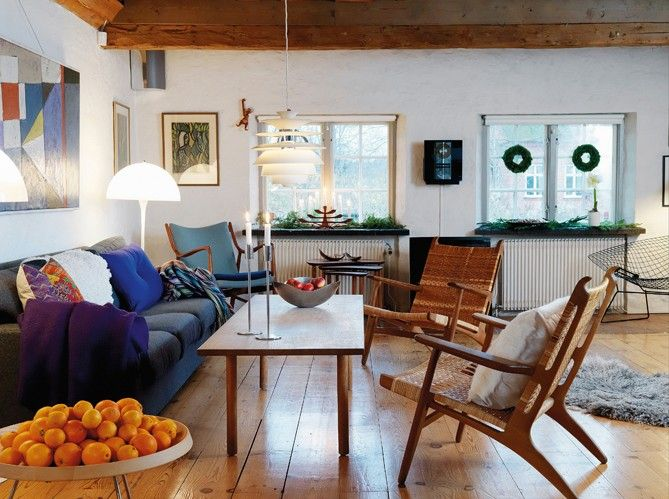 Interior Decorating with Vintage, Modern  Antique Furniture