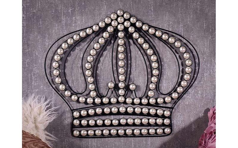 Crown Wall Decor W Pearls Crown Wall Decor Wall Decor Decor