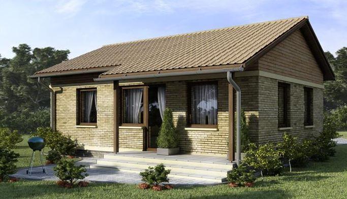 Fachadas de casas a dos aguas tutulungo modelos de for Fachadas de cabanas rusticas
