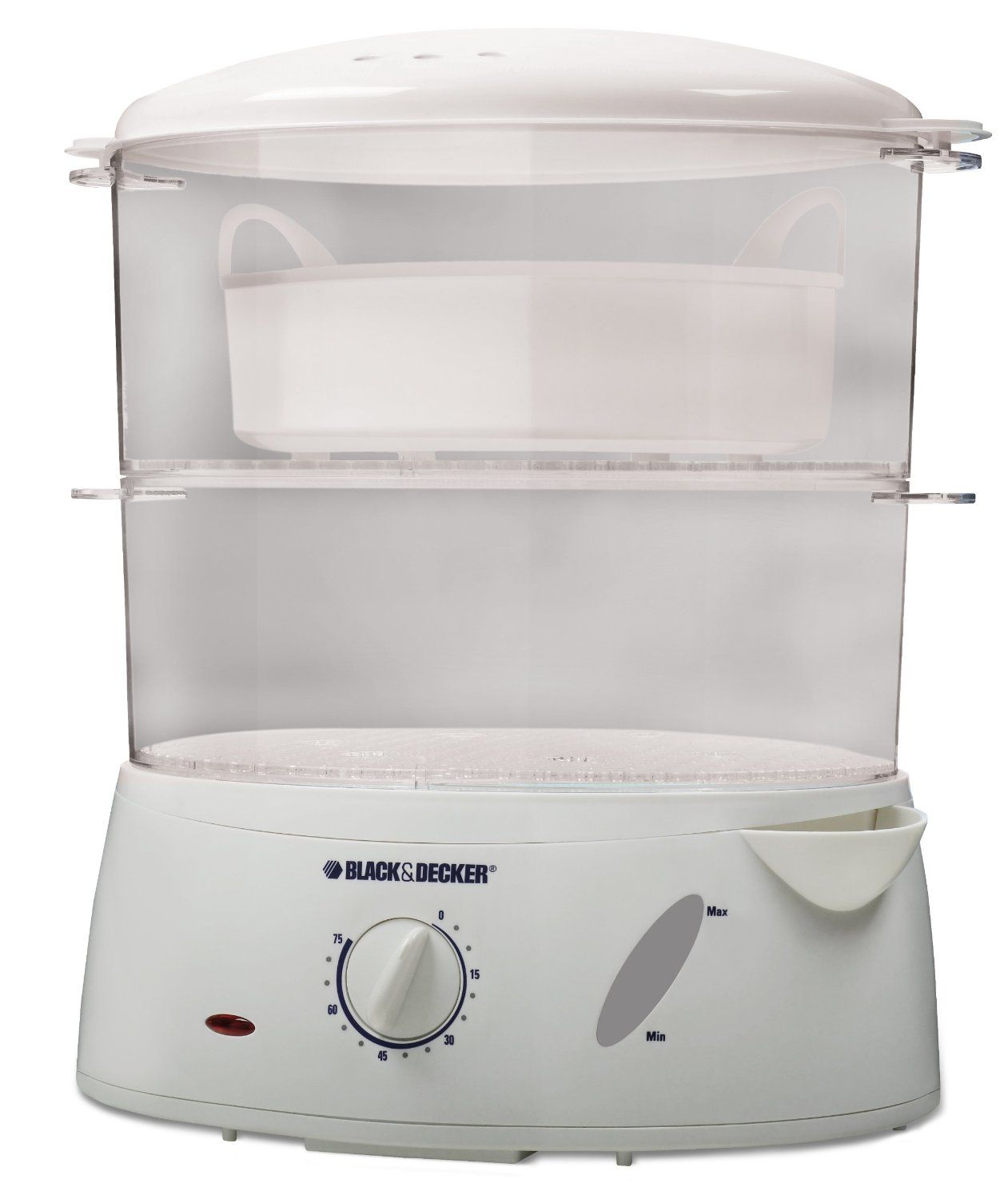 Black Decker 7 Quart 2 Tier Food Steamer Rice Cooker Is Large Enough For Steaming All Kinds Of Food Such As Ve
