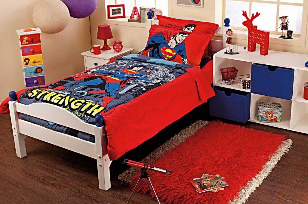 Superman Bedding Set   Superman bedroom decor, Superman ...