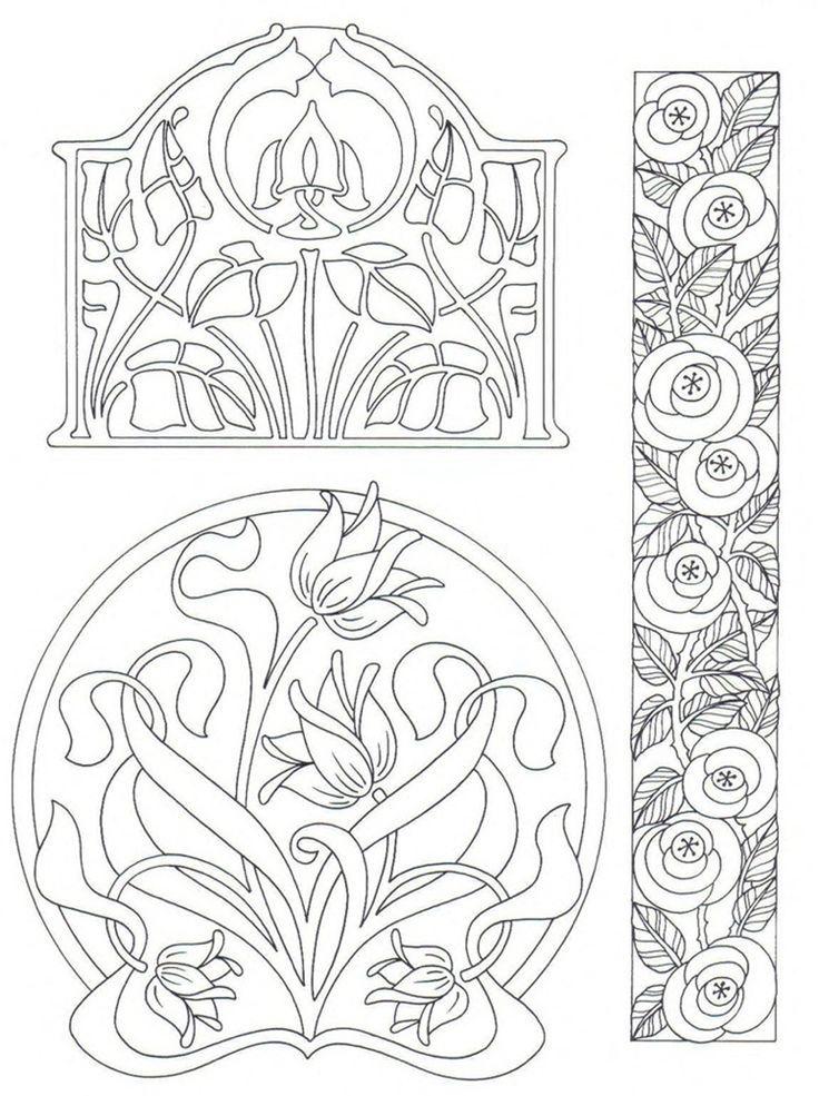 malvorlagen blumen ornamente  tiffanylovesbooks