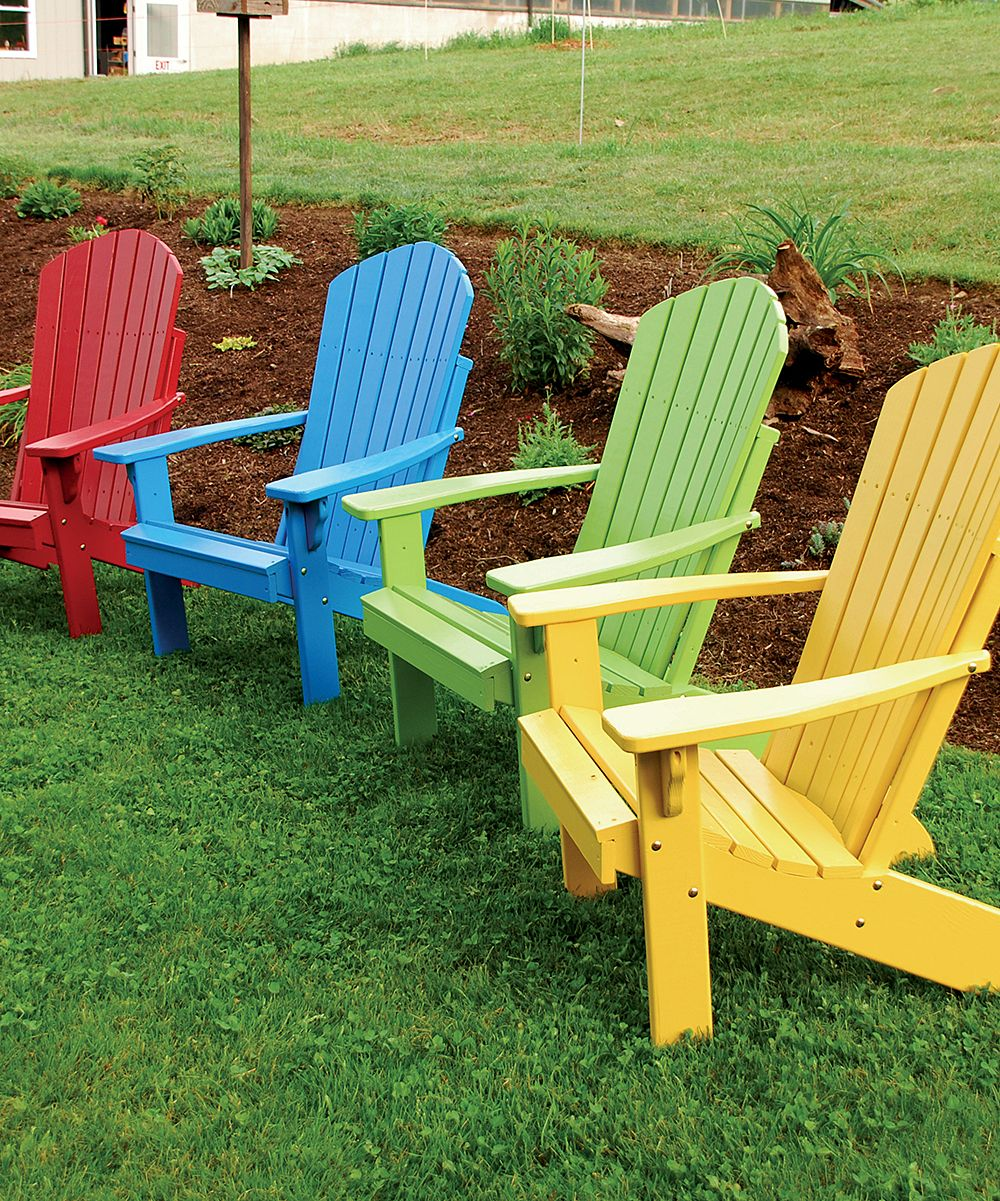Aul furniture fanback adirondack chair zulily things that i want