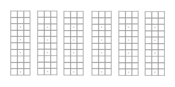 graphic regarding Mandolin Chord Charts Printable identified as Diagram Mandolin - Complex Diagrams