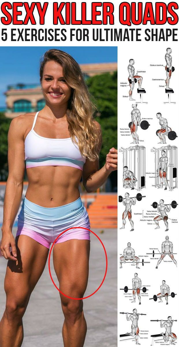 Can We Help You Shape Your Quads? Most Definitely, Use This Strong 5 Move Routine - GymGuider.com