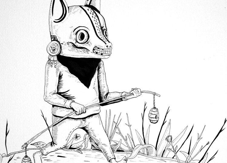 México ilustración.