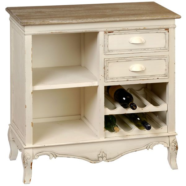 Country Chic Small Buffet Wine Rack