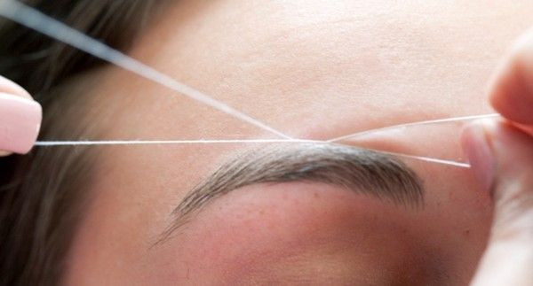 Image result for eyebrow threading infographic