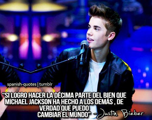 Enviada Por Paula My Bæ Spanish Quotes Quotes Y Justin