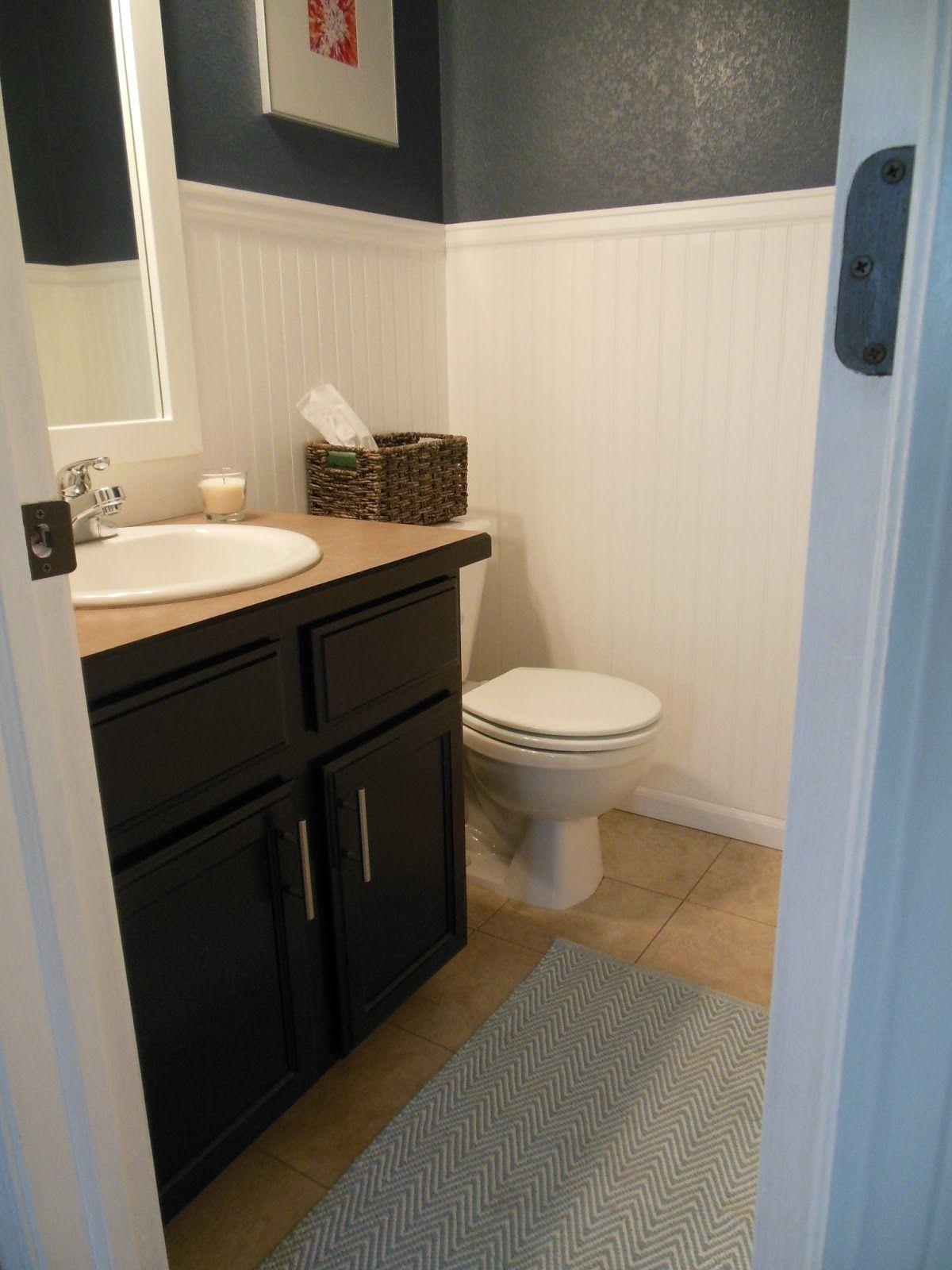 Paint finish for bathroom wainscoting bathroom ideas pinterest