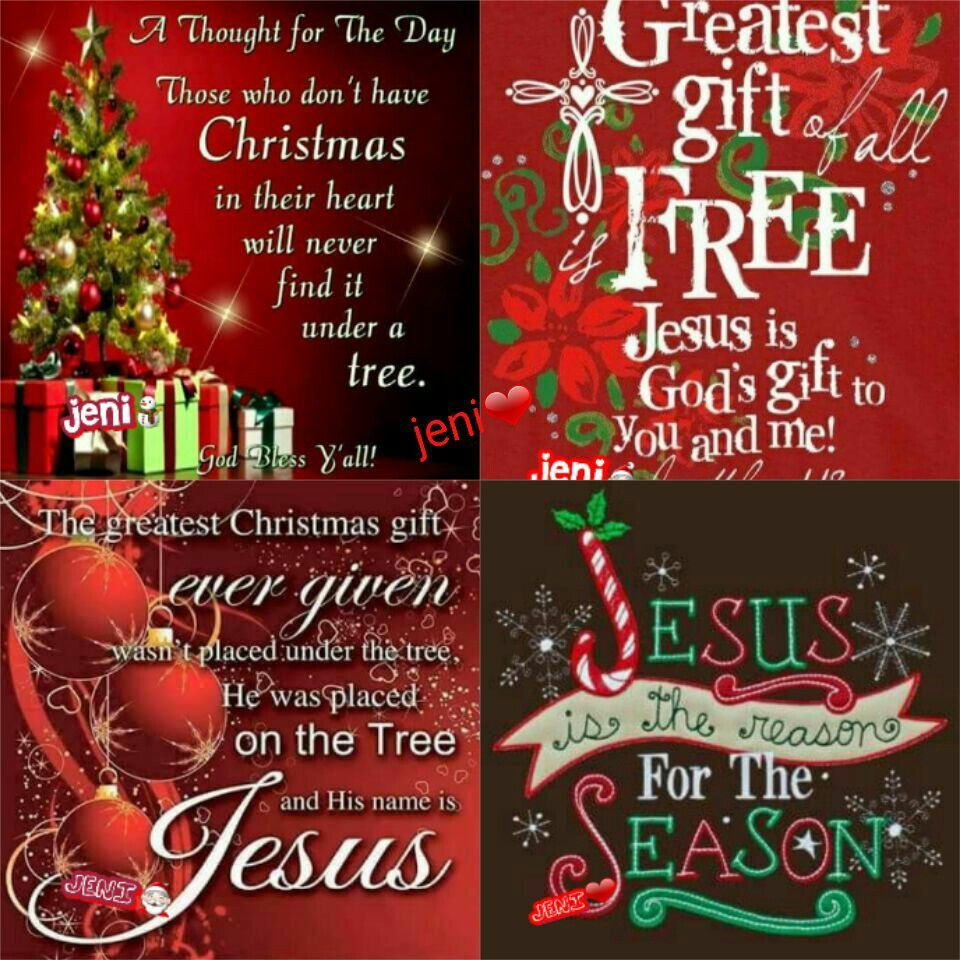 Jesus is the reason for the season. | Merry Christmas! | Pinterest ...