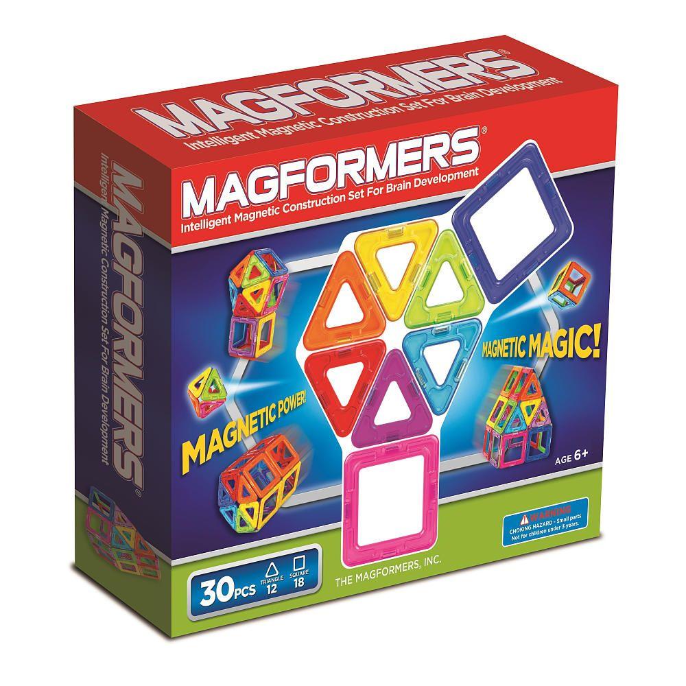 Magformers Rainbow 30-Piece Set - Magformers - Toys \