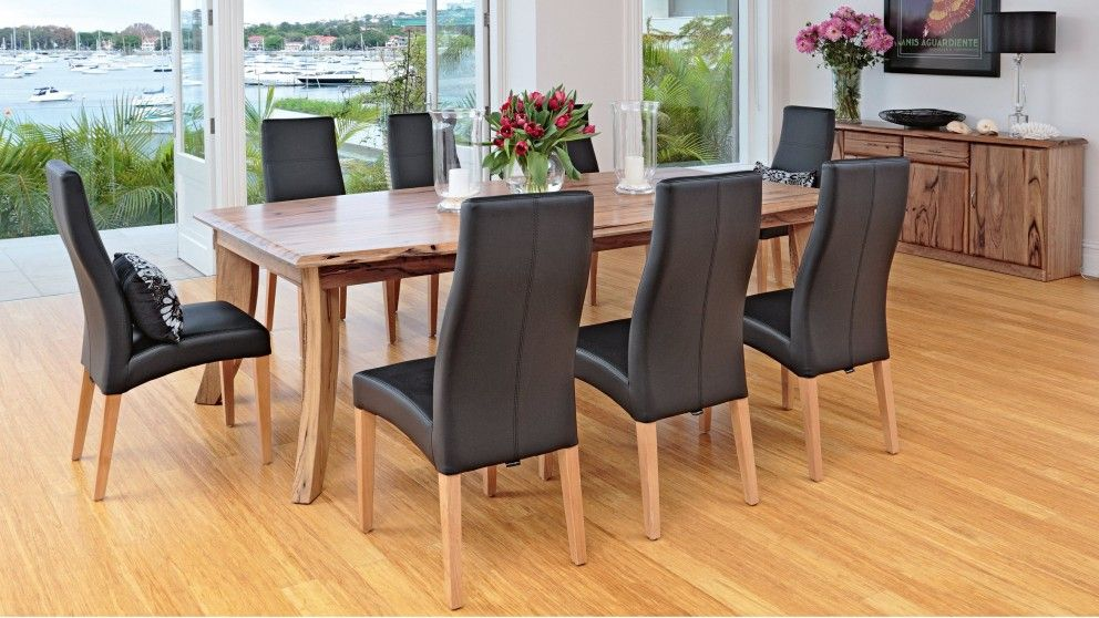 Soprano 9 piece dining setting dining furniture dining for Outdoor furniture harvey norman