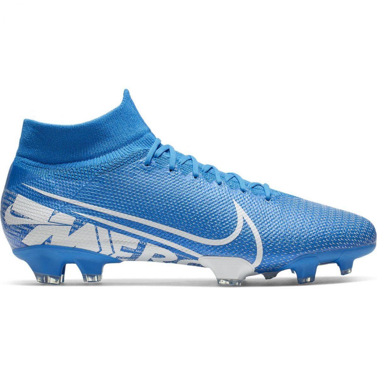 Corks Football Sport Nike Nike Mercurial Superfly 7 Elite Mds Fg Jr Bq5420 401 Football Shoes Blue Blue Superfly Football Shoes Blue Shoes