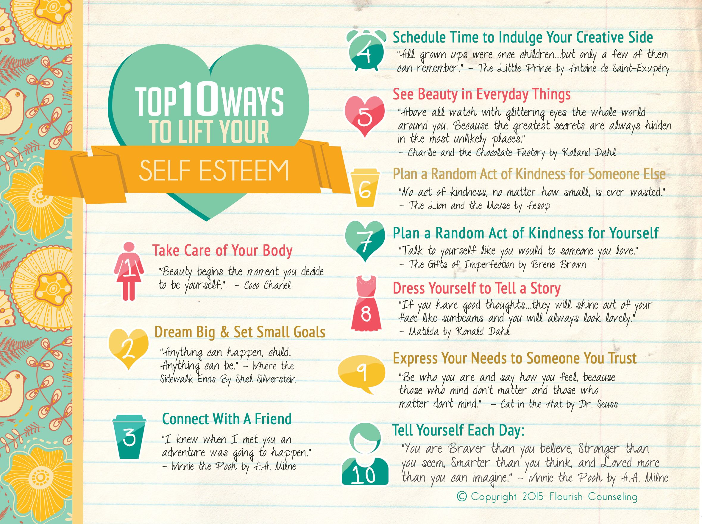 How to Boost Your Self-Esteem recommend