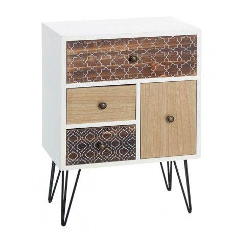mesita de noche nordica stunning mesita de noche with mesita de noche nordica latest mesilla. Black Bedroom Furniture Sets. Home Design Ideas