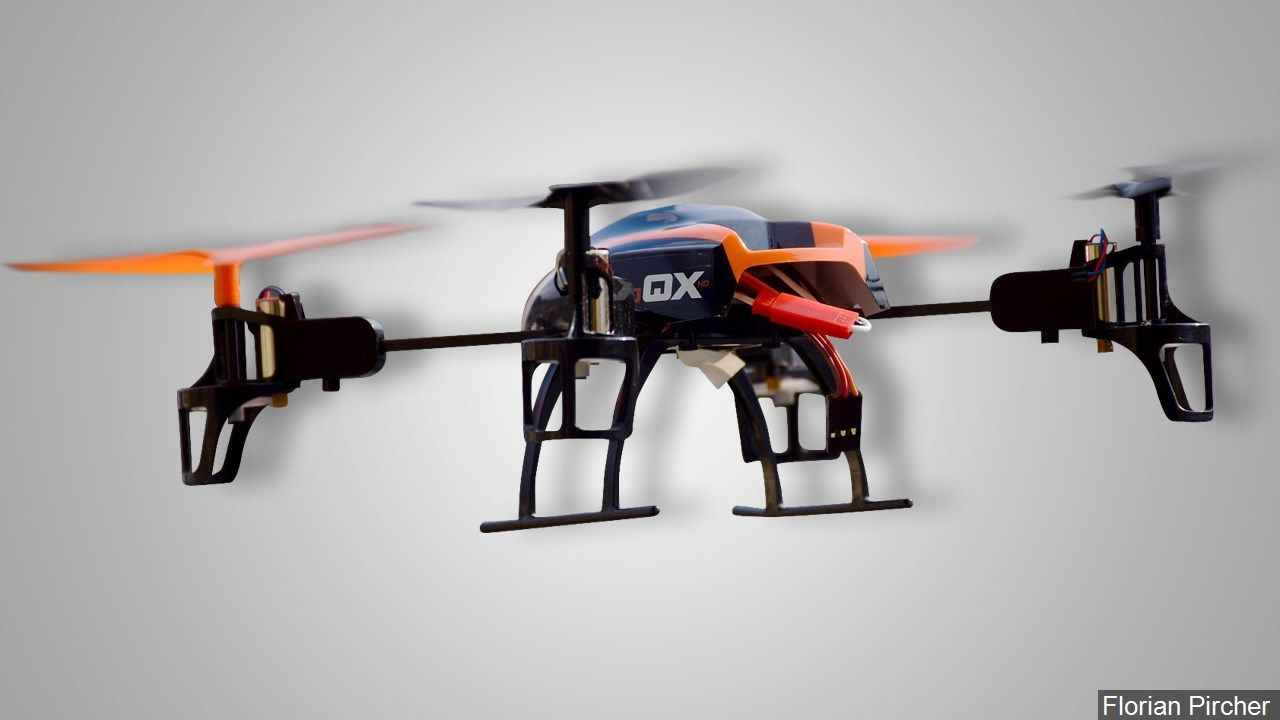 avis drone parrot fpv