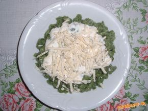 Photo of Spinach dumplings with Niva (sour cream, garlic)