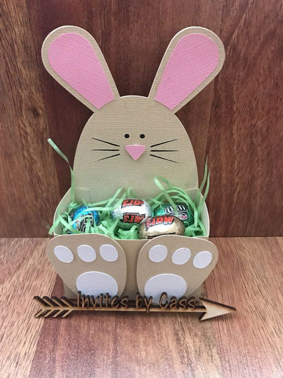 Diy easter bunny belly box x 10 this is a do it yourself kit easter diy solutioingenieria Images