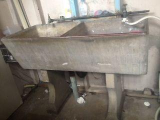 Antique Concrete Laundry Tub Double Sink In Auburn Nsw Ebay