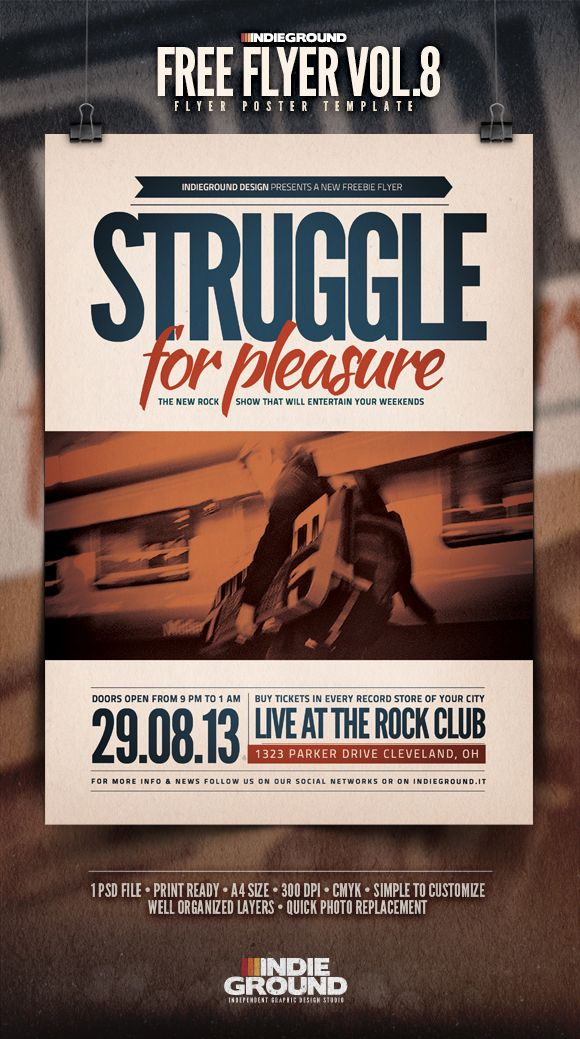 free flyers design