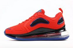 new products 70e60 a268e Nike Air Max 720 KPU Men s Running Shoes Red Black