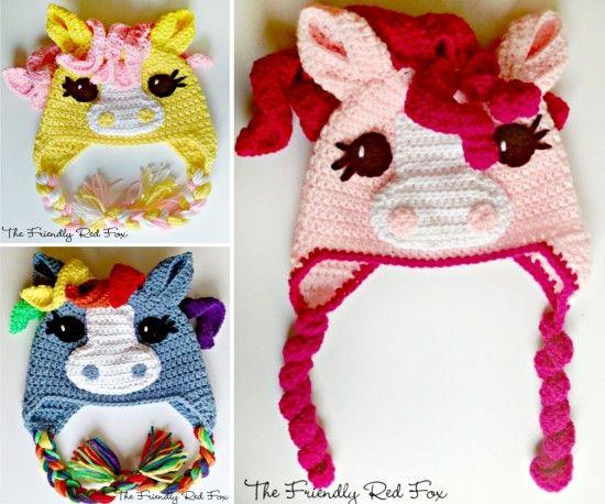 My Little Pony Hat Crochet Pattern Lots Of Cute Ideas Free Pattern