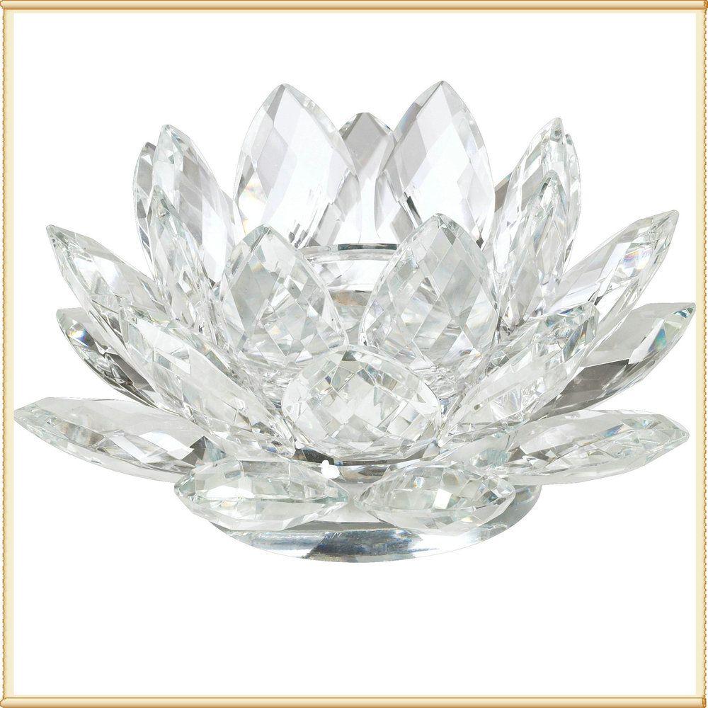 Cheap wedding take away gift crystal lotus for wedding favorsin