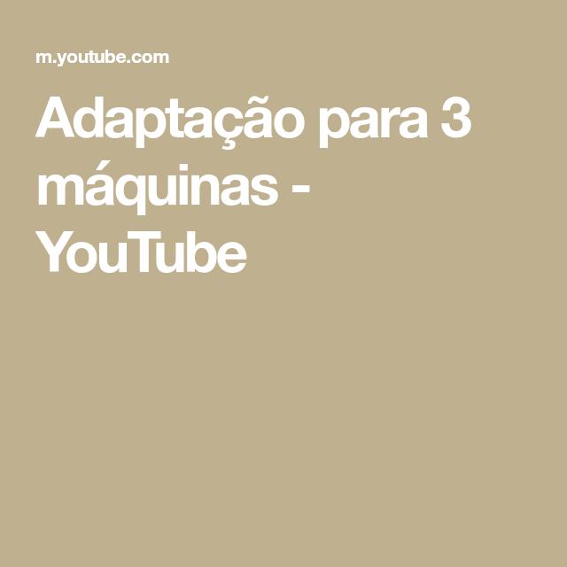 Adaptacao Para 3 Maquinas Youtube Suporte Para Esmerilhadeira Adaptacao Maquinas