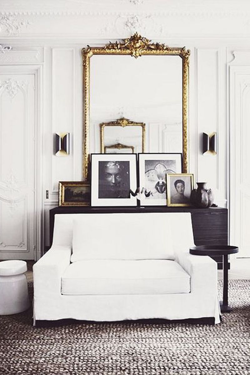 Genial How To Decorate A Blank Wall With Chic Styling