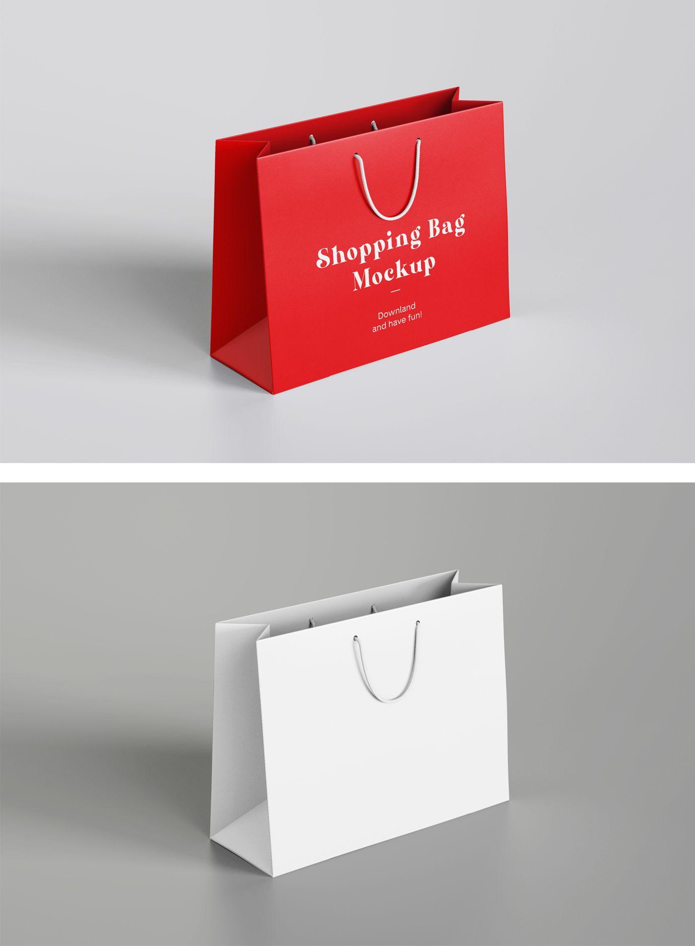 Download Shopping Bag Mockup In 2021 Bag Mockup Shopping Bag Design Design Mockup Free