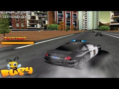 police car race part 2 racing cars games for kids video for