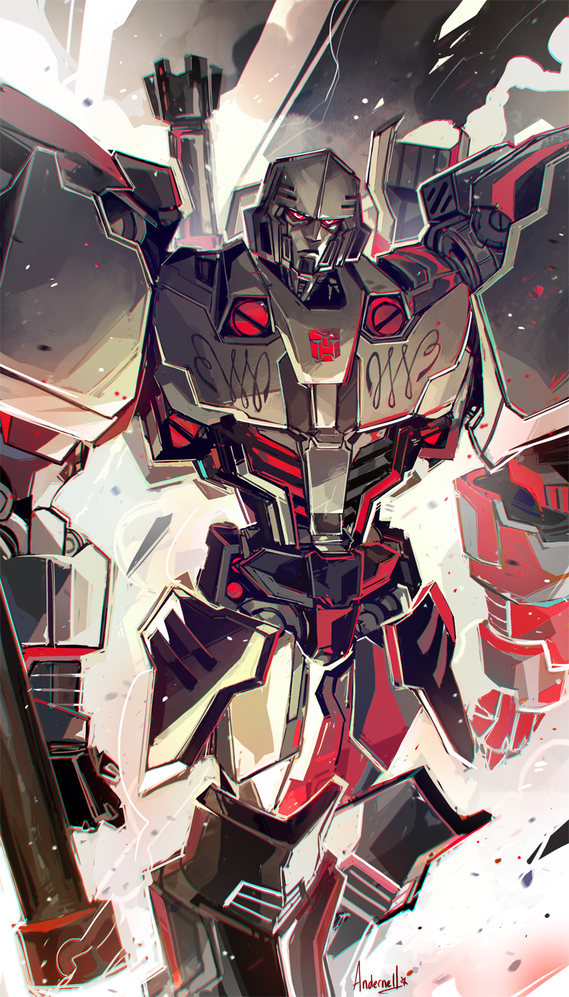 Autobot Megatron Transformers Megatron Art Transformers