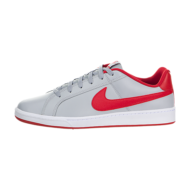Z59t2486 Nike Court Royale Wolf Grey University Red White