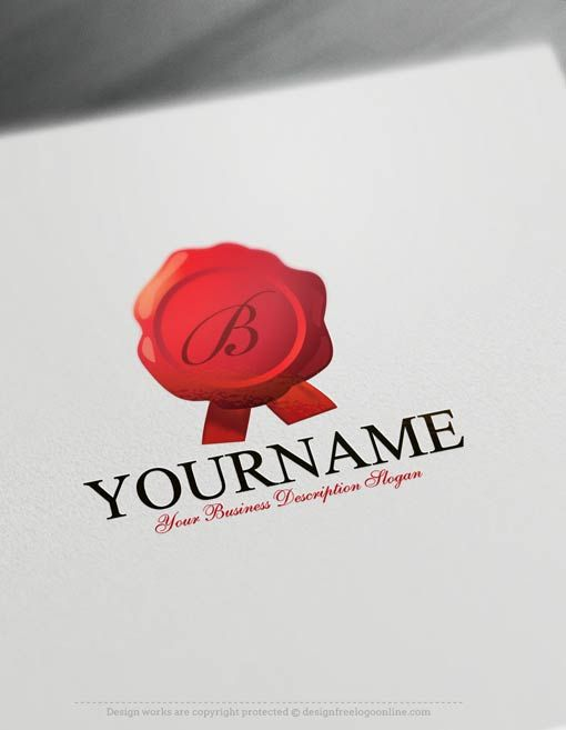 Free Logo Maker Stamp Notary Templates