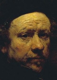 Rembrandt, Self-portrait Aged 51, 1657. National Gallery of ...