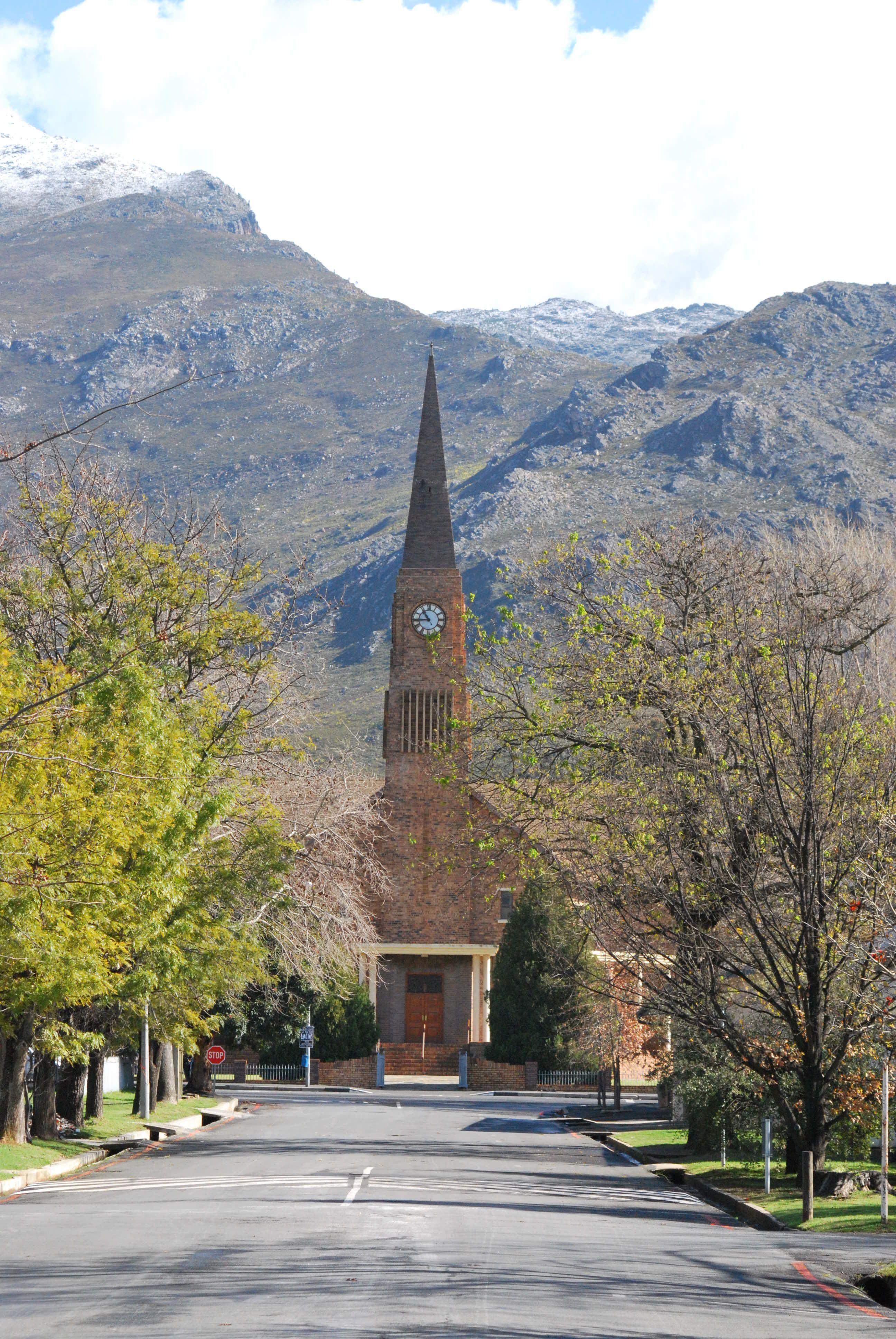 Dutch Reformed Church, Church Street, Villiersdorp. SA