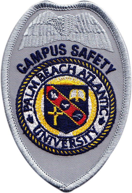 Palm Beach Atlantic University Campus Safety badge patch
