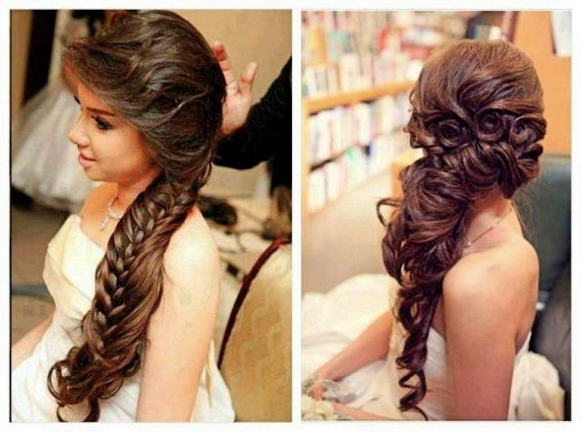 Indian Hairstyles For Wedding Long Hair Pro With Regard To Simple