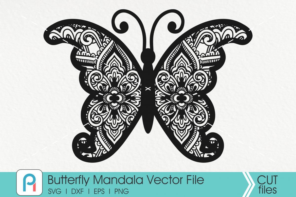 Download Butterfly Mandala Svg Butterfly Svg Mandala Svg Flower Svg In 2020 Butterfly Mandala Butterflies Svg Mandala Svg