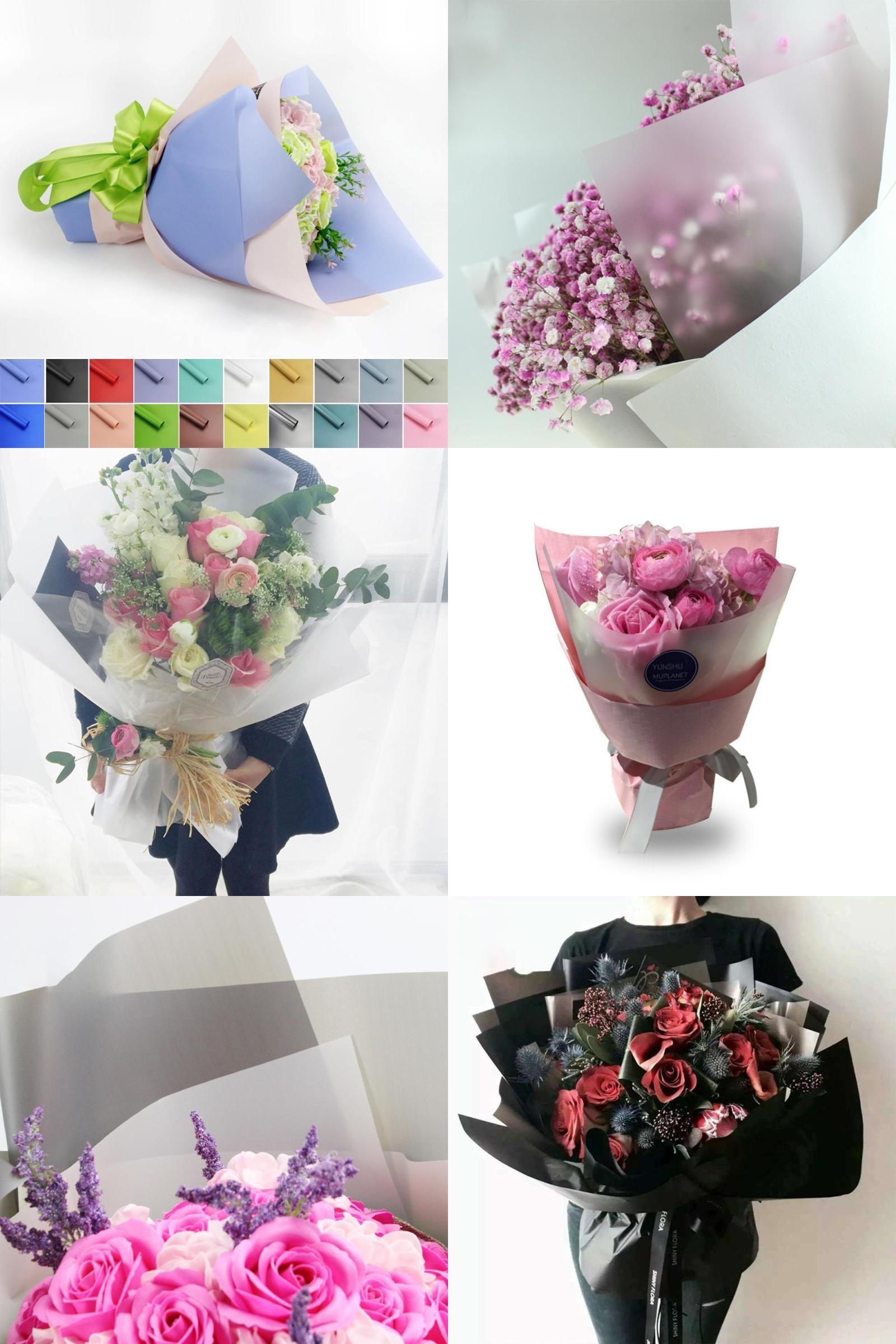 Visit To Buy High Grade Paper Waterproof Flowers Packaging Material