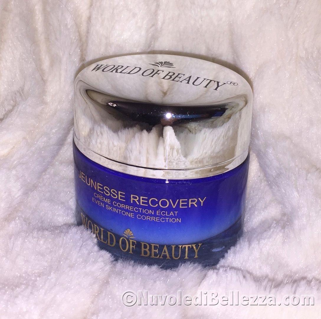 World of Beauty: Jeunesse Recovery e Contour Eyes & Lips Beauty Serum - Nuvole di Bellezza
