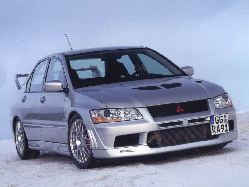 Mitsubishi evolution 7
